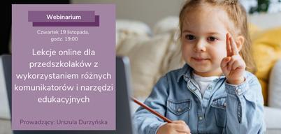 Obrazek do artykułu Lekcje online z wykorzystaniem różnych komunikatorów i narzędzi edukacyjnych